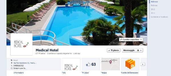 Medical Hotel - facebook page